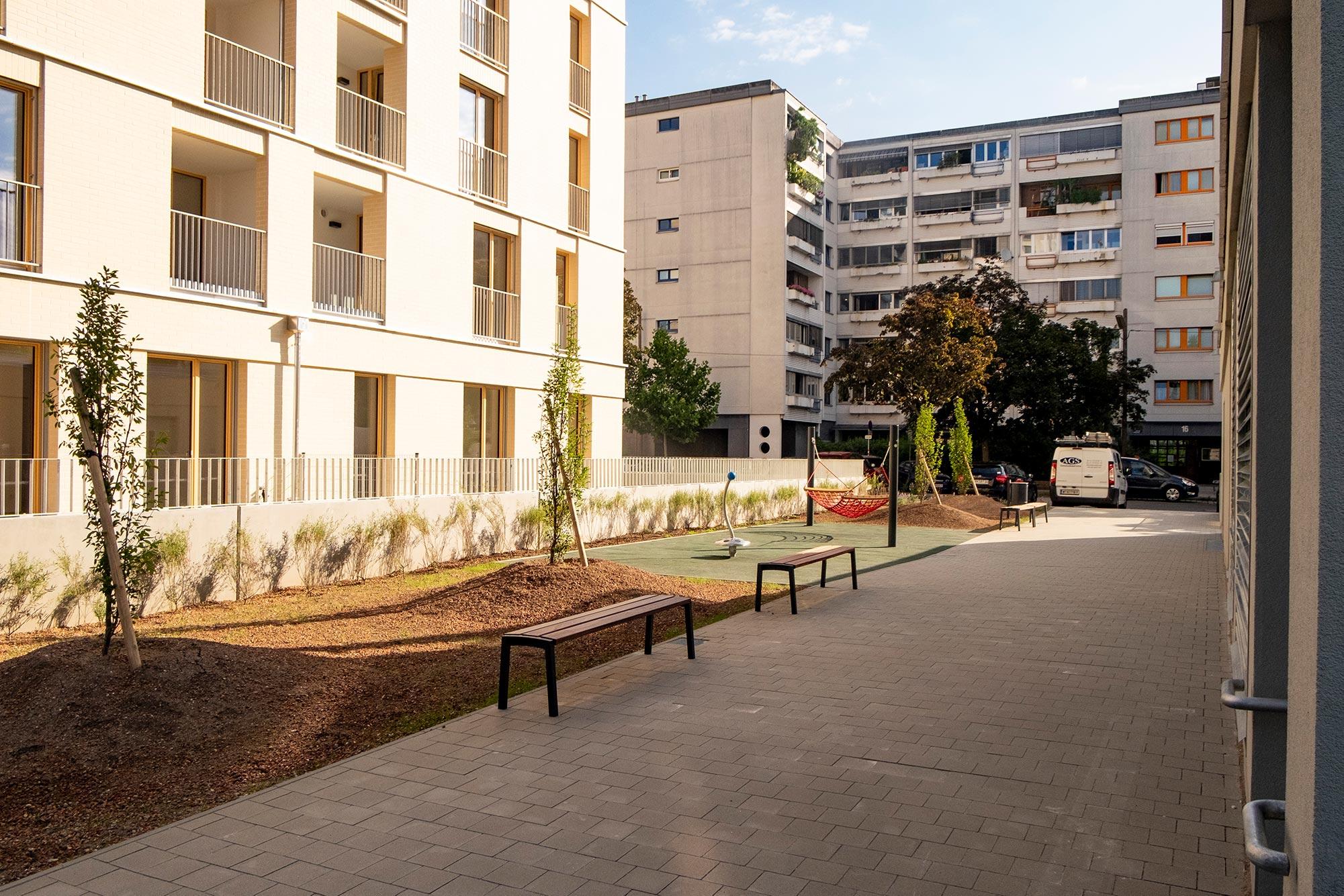 Vorgartenstrasse Wohnbau